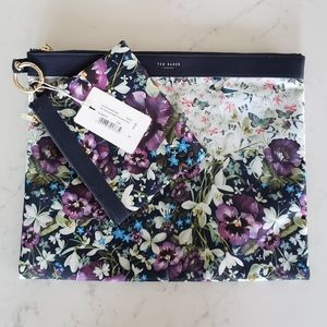 Ted Baker Floral Nylon Pouch Set